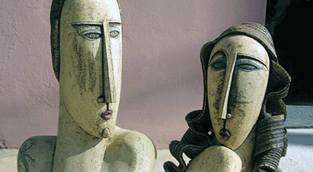 Masterpiece Galata Heykel - Kadın v