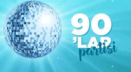 Party Hall'de 90'lar