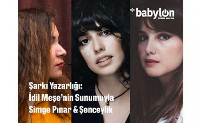 Şarkı Yazarlığı: İdil Meşe'nin Sunumuyla Simge Pınar & Şenceylik