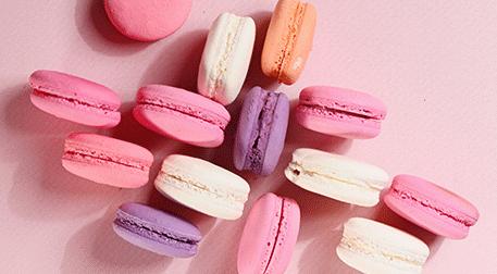 Sevgililer Günü Macaron'ları