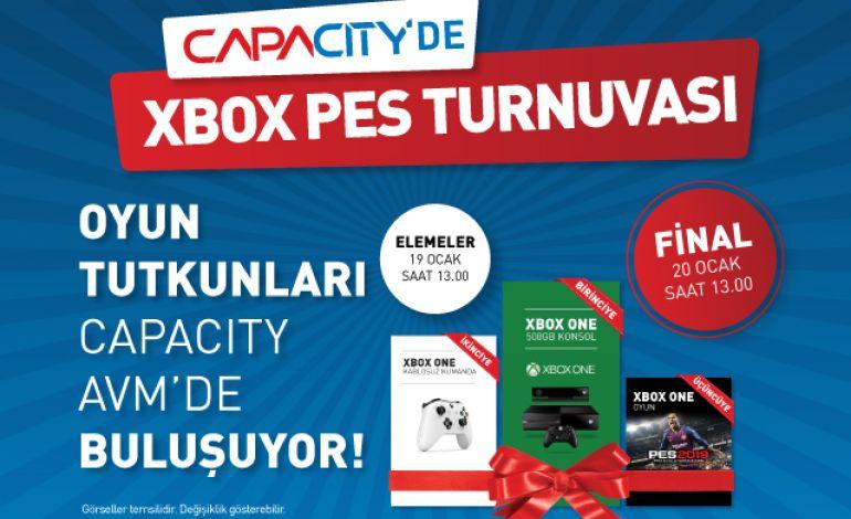 Xbox PES Turnuvası Capacity AVM'de Başlıyor