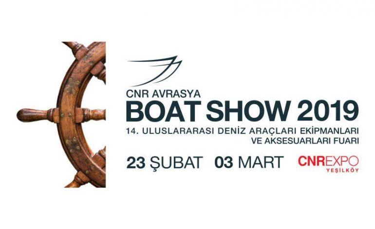 CNR Avrasya Boat Show 2019