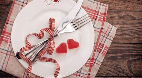 Eataly'de Sevgililer Günü Yemeği