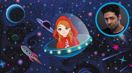 Kırmızı Başlıklı Kız Uzayda