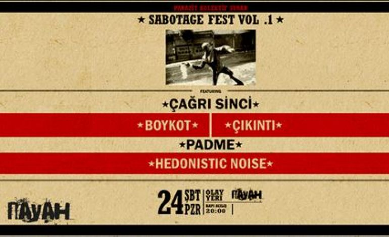 Parazit Kolektif Sunar: Sabotage Fest Vol.1