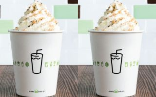 Shake Shack'ten Salted Vanilla Toffee Milkshake