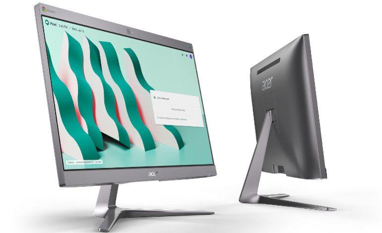 Acer'den İki Yeni Tasarım: Chromebase