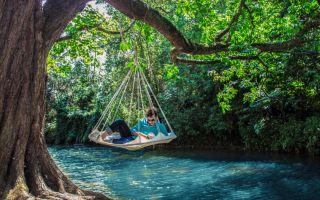 Doğa Tutkunu Aşıklara Asılabilir Yatak