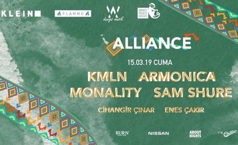 Allience w/ KMLN, Monality, Armonica, Sam Shure @ KLEIN & Flamme