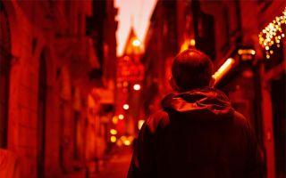 Beyoğlu'nda En Kırmızı Akşamüstü