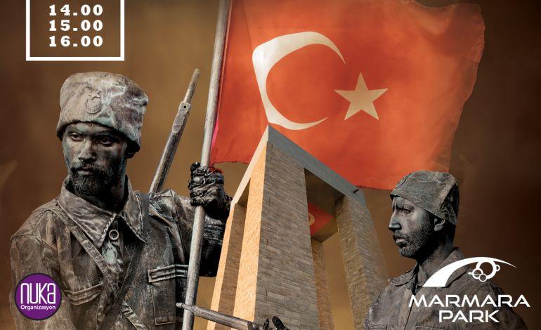 Marmara Park 18 Mart'ta Ziyaretçilerini Canlı Heykellerle Buluşturuyor