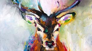 Masterpiece Maslak Resim - Geyik