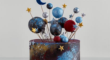 MSA - Galaxy Cake ;Şeker Hamuru
