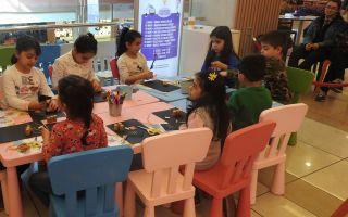 Tepe Nautilus'ta Çocuklar Yaratıcılıklarını Keşfediyor