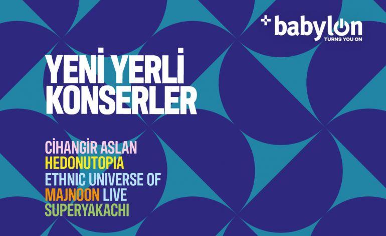 Yeni Yerli no.3: Cihangir Aslan, Hedonutopia, Ethnic Universe of Majnoon Live, superyakachi