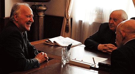Gorbaçov'la Görüşme