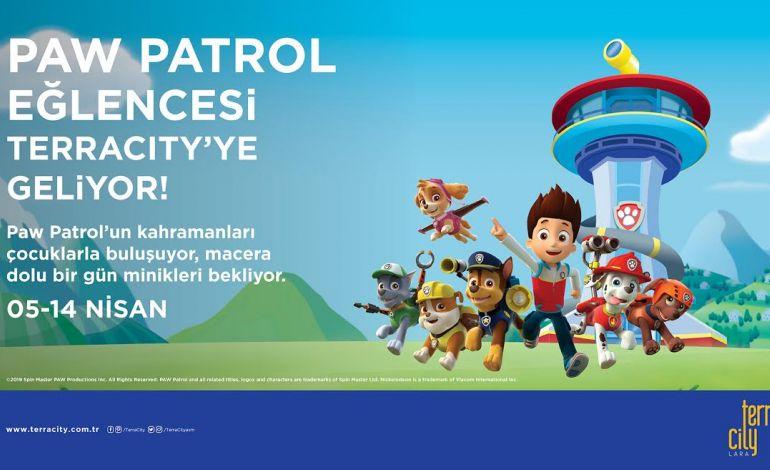 Paw Patrol Ekibi Çocuklar için TerraCity'e geliyor