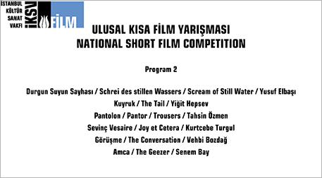 Ulusal Kısa Film Yarışması II