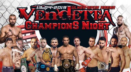 Vandetta Champions Night Kick Boks