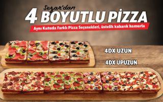 Little Caesars'tan Pizzada 4. Boyut
