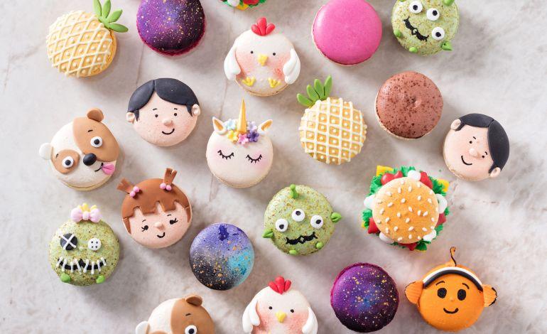 Divan Pastaneleri'nden Çocuklara Özel Macaron ve Çikolata