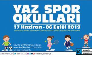 Kadıköy Belediyesi Yaz Spor Okulu Kayıtları Başladı