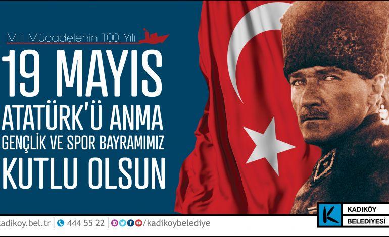 19 Mayıs Gençlik ve Spor Bayramı'nın Adresi Kadiköy Olacak