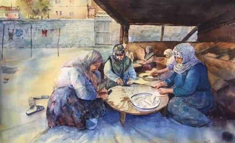 Mücella Balyemez - Suluboya Yaz Sergisi