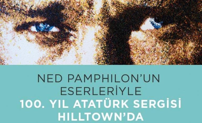 Ned Pamphilon'un Eserleriyle 100. Yıl Atatürk Sergisi