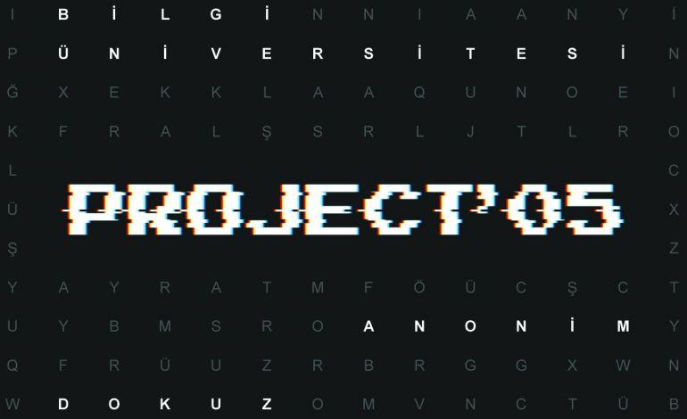 Yaratıcı Öğrenci Festivali Project'05