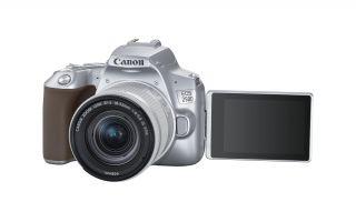 Canon Dünyanın En Hafif DSLR'ı : EOS 250D