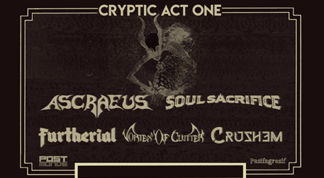 Cryptic Act One