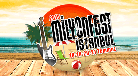 MilyonFest İstanbul Cumartesi
