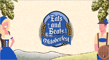 Eats and Beats Oktoberfest -Kombine