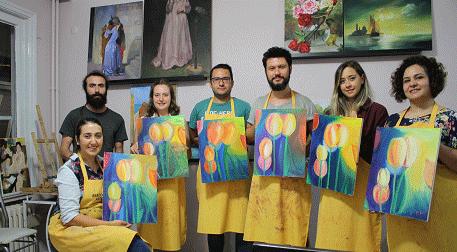 Yağlıboya Resim Workshopu - Temmuz