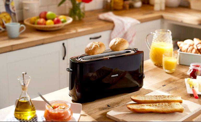 Kahvaltının Vazgeçilmezi Philips Ekmek Kızartma Makinesi