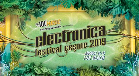 Electronica Fest. Çeşme Pazartesi