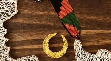 Masterpiece Kocaeli String Art-Afro