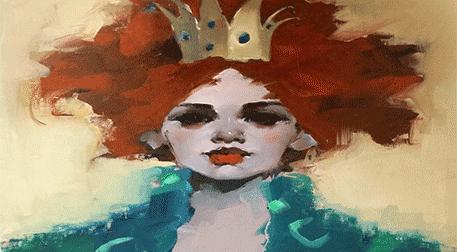 Masterpiece Maslak Resim - Red Quee