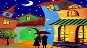 Masterpiece Maslak Resim - Renkli R