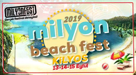 Milyon Beach Fest Kilyos Kamp+Kombi
