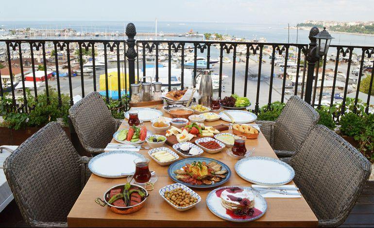 Manzarasına Doyulmaz Kahvaltı