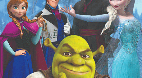 Kayıp Shrek Karlar Ülkesinde