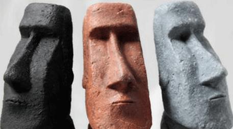 Masterpiece Ankara Heykel - Moai