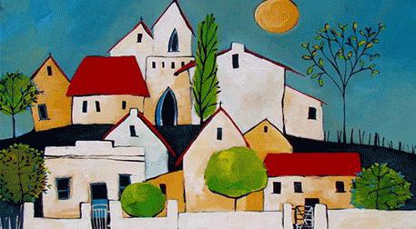 Masterpiece Ankara Resim - Village