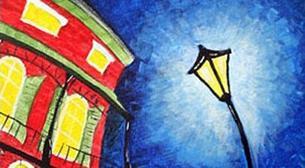 Masterpiece İzmir Resim - Sokak Lam