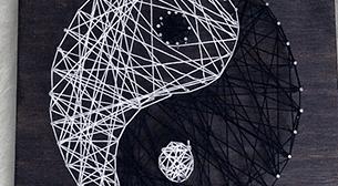 Masterpiece Kocaeli String Art -Yin