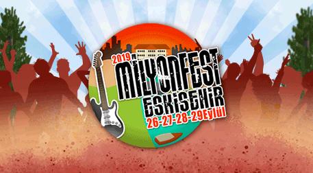 MilyonFest Eskişehir Cumartesi