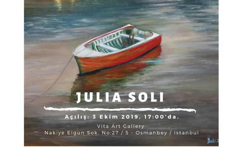 Ressam Terapist Julia Soli Vita Art Gallery'ye Geliyor!
