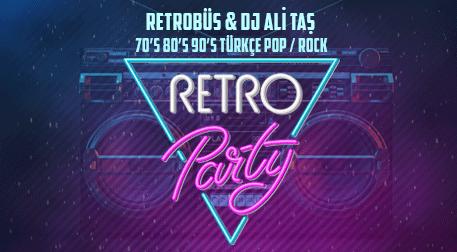 Retrobüs&DJ Ali Taş ile Retro Parti